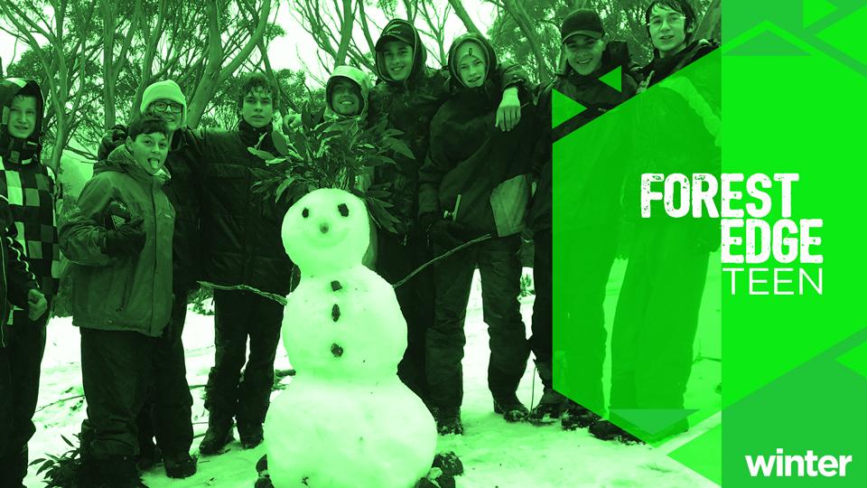 Forest Edge Winter Teen Camp