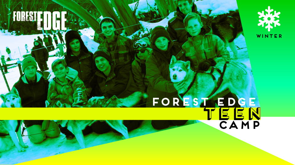 Forest Edge Winter Teen Camp