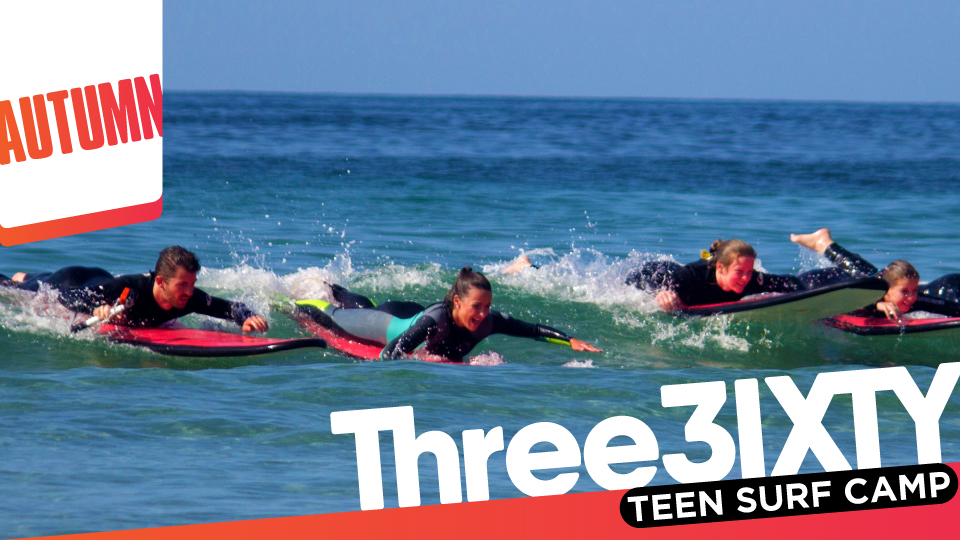 Three Sixty Teen Surf Camp